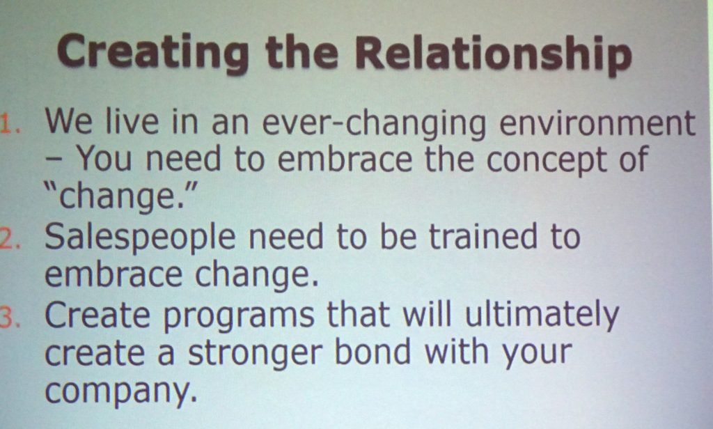 Creating the Relationship