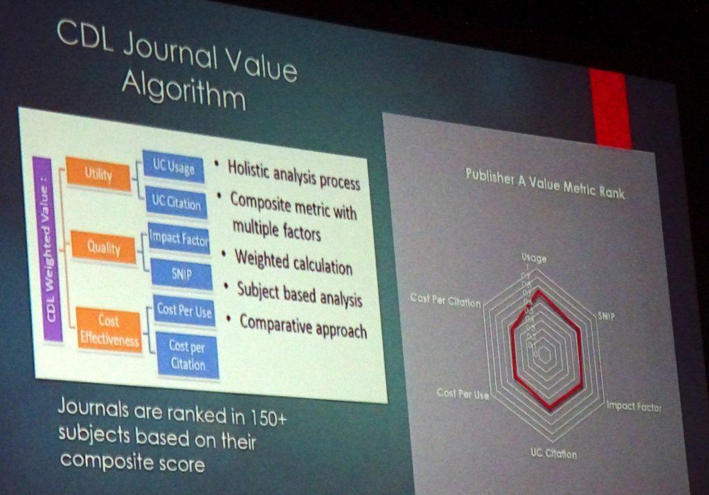 CDL Journal Value Algorithm