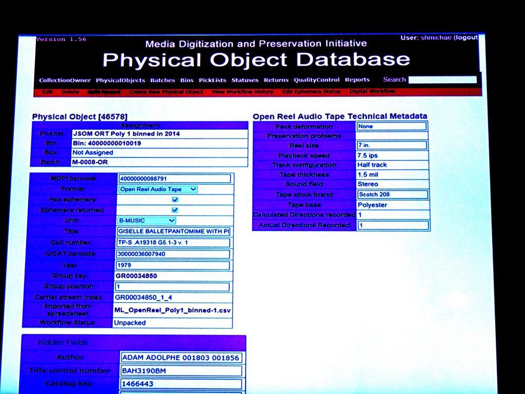 Database record