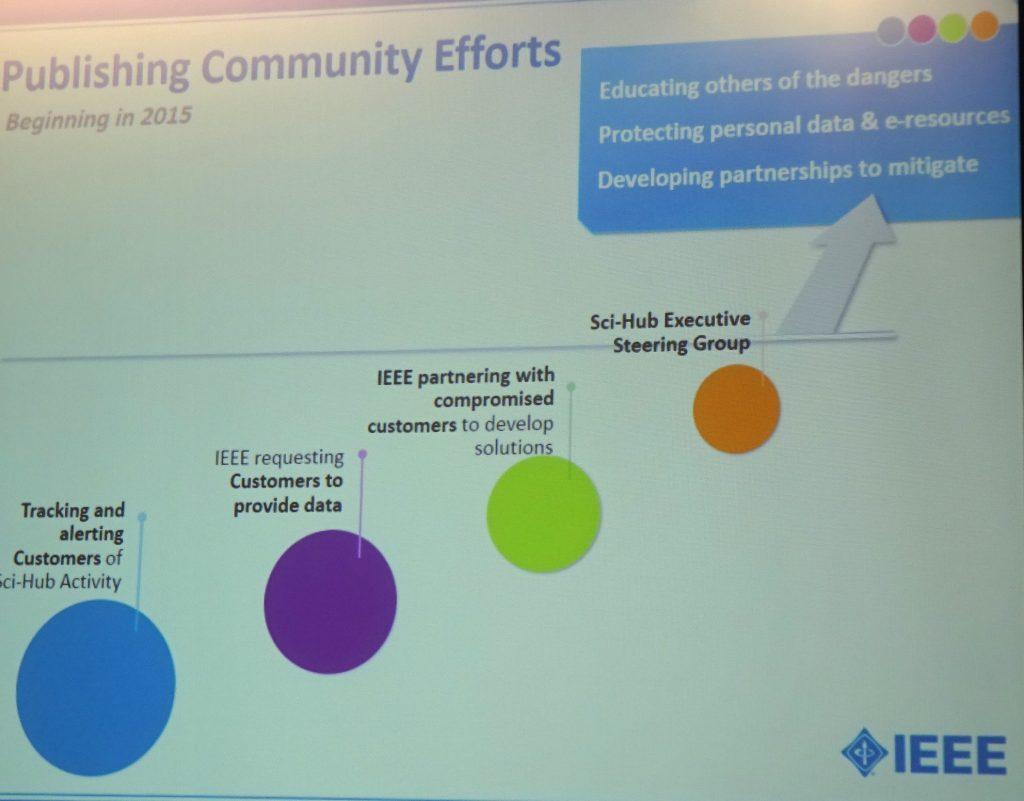Publishing Community Efforts