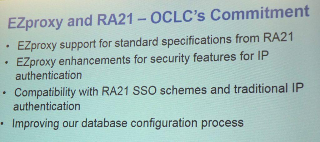 OCLC's commitment