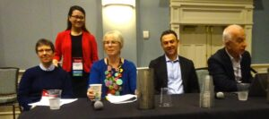 Diane Fulkerson, Caroline Campbell, Julia Gelfand, Kevin Sayer, Dr. Mehdi Khosrow Pour