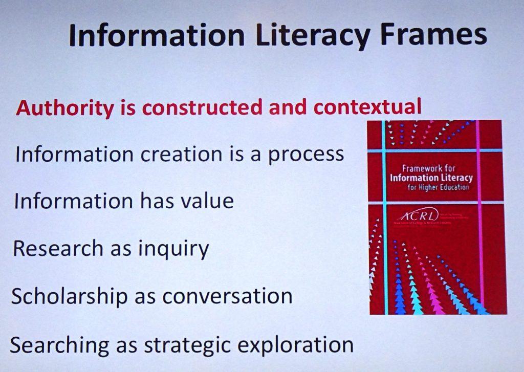 Information Literacy Framework