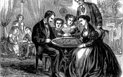 ATG Quirkies: A Few 19th-Century Parlor Games to Amuse You While You're Stuck at Home