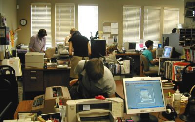 """ATG """"I Wonder"""" Wednesday: Will changing work habits reduce the need for office space in libraries?"""