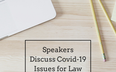 Speakers Discuss Covid-19 Issues for Law Libraries-Guest Post-The Rumors Blog